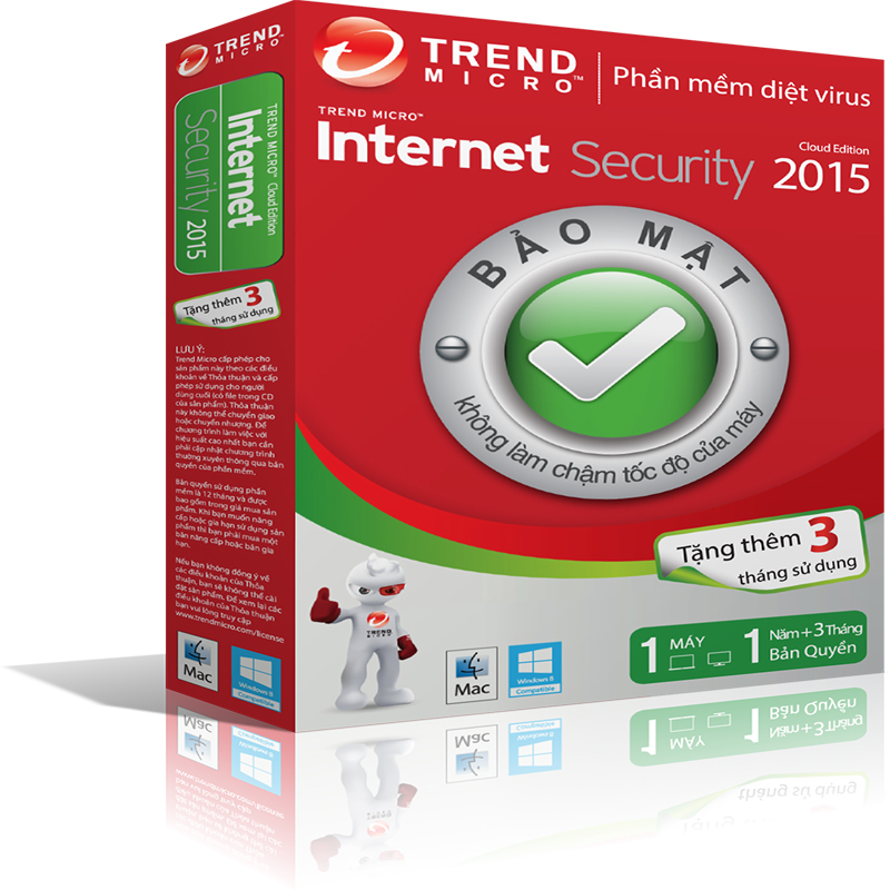 Trend Micro Titanium Internet Security 2015 1PC