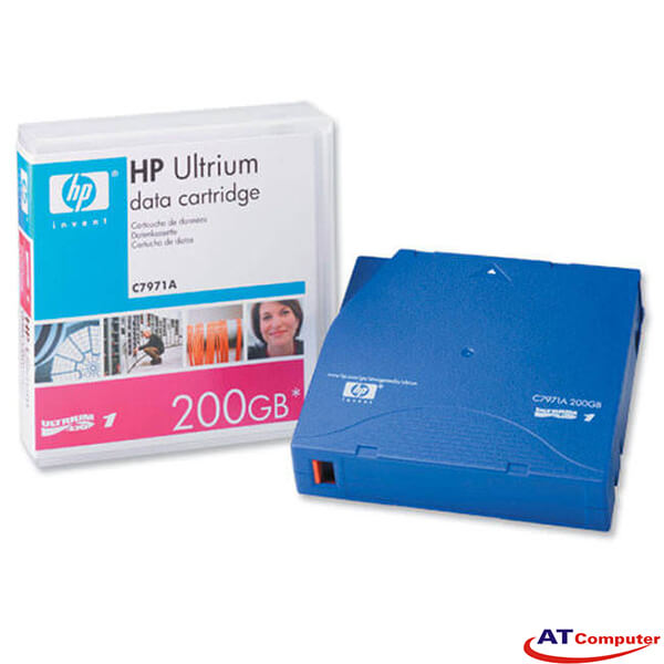 HP Ultrium LTO-1 200GB Data Cartridge, P/N: C7971A
