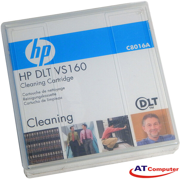 HP DLT VS 160GB Cleaning Cartridge, P/N: C8016A