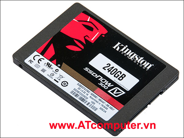 SSD KINGSTON SSDNOW 240GB 2.5 SATA3 6GB/s (Đọc 540MB/s, Ghi 360MB/s)
