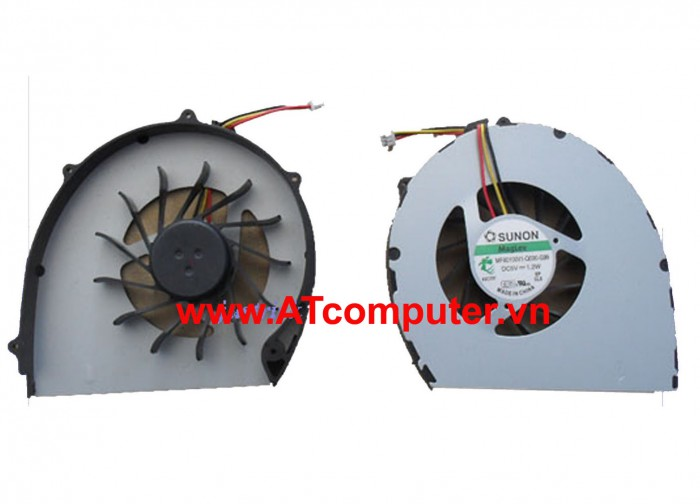FAN CPU DELL Vostro 3700 Series. Part: G7Y4Y, MF60100V1-Q000-G99