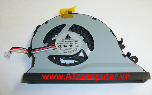 FAN CPU SAMSUNG NP-QX410, QX411 Series. Part: BA62-00542B, BA31-00095A, KSB06105HA