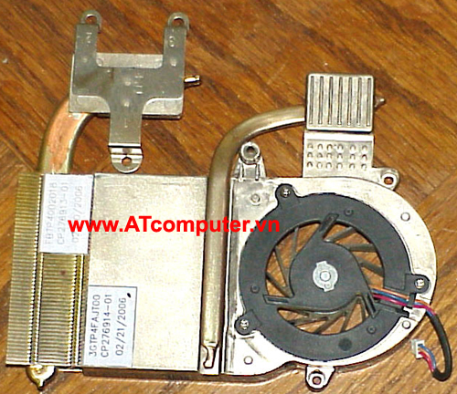 FAN CPU FUJITSU Lifebook N3530, T2300, T2400 Series. Part: CP276914-01