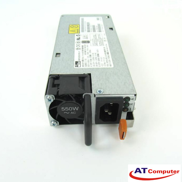 IBM 550W Power Supply Hot plug, For X3550M4, X3630M4, X3650M4, X3300M4, Part: 94Y6668