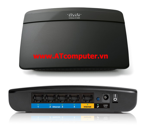 Linksys E1200 Wireless N Router Accesspoint