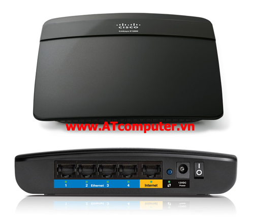 Linksys E1500 Wireless N Router witch speebood Accesspoint