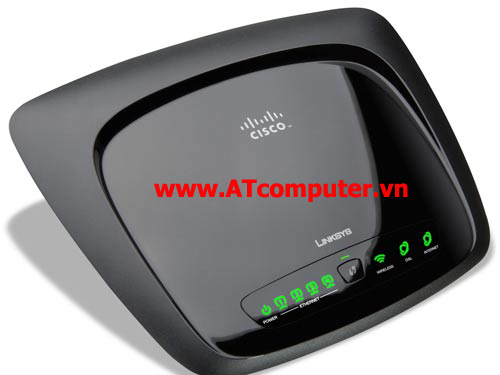 Linksys WAG120N Wireless Router Accesspoint + Modem ADSL