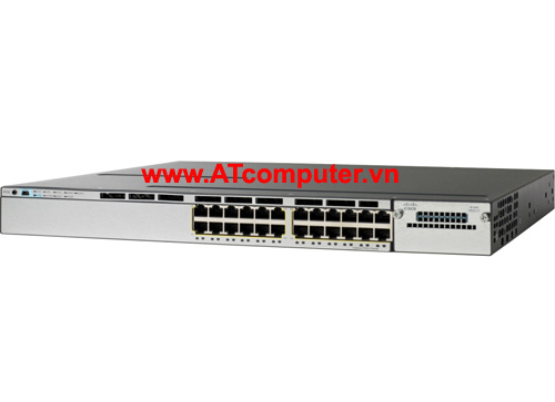 Cisco WS-C3750X-24S-E Catalyst 3750X 24 Port GE SFP IP Services