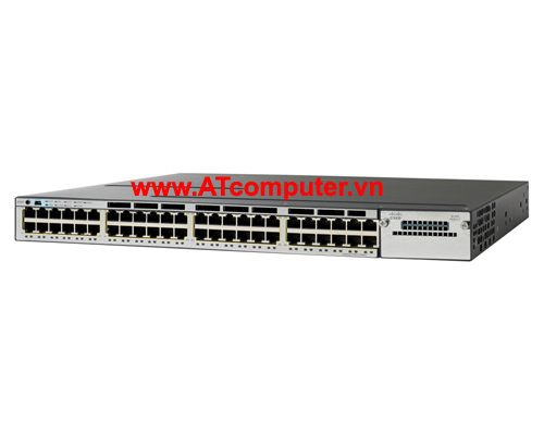 Cisco WS-C3750X-48PF-L Catalyst 3750X 48 Port Full PoE LAN Base