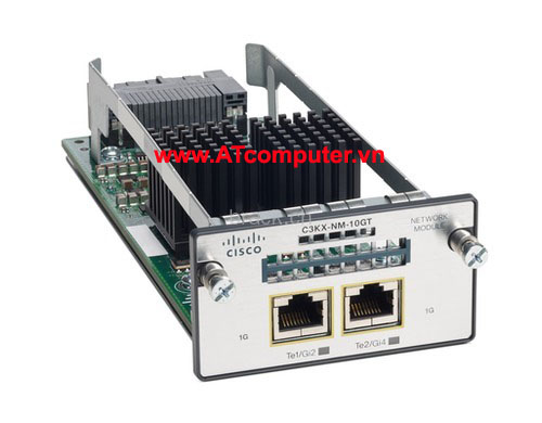 Cisco C3KX-NM-10GT Catalyst 3K-X 10G-T Network Module