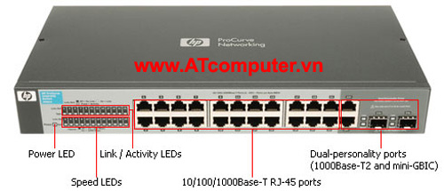 HP V1410-24G Switch, Part: J9561A