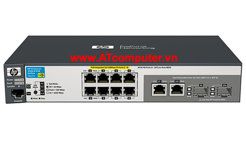 HP E2520-8G-PoE Switch, Part: J9298A (8p Gbit PoE)