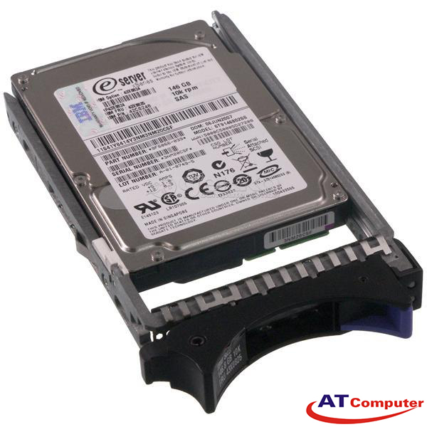 IBM 146GB SAS 10K 3Gbps 2.5. Part: 42R8392, 74Y9209