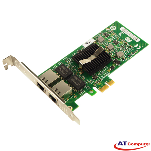DELL PRO 1000 PT PCI-Express Dual Port Gigabit Server Adapter, Part: X3959