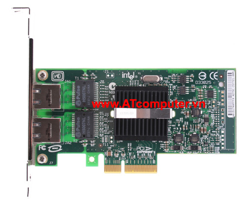 DELL PRO 1000 PT PCI-Express Dual Port Gigabit Server Adapter, P/N: X3959