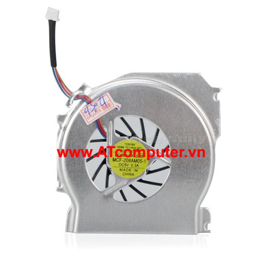 FAN CPU IBM ThinkPad T43, T43P Series. Part: 26R7846, 26R9757, MCF-208AM05-1, HY55H-05A