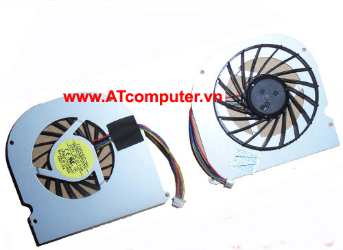 FAN CPU ASUS F80, F81, F83, X82, X88 Series. Part: UDQF2ZR04FAS, DFS551005M30T