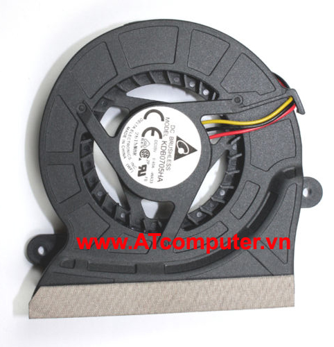FAN CPU SAMSUNG NP-R458, P459, P461, R408, R466, P408, RV408 Series. Part: KDB0705HA, KDB0705HA-WA33