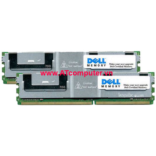 RAM DELL  4GB (2 x 2GB) DDR2 Single Rank  ECC PC2-6400. Part: A2018598