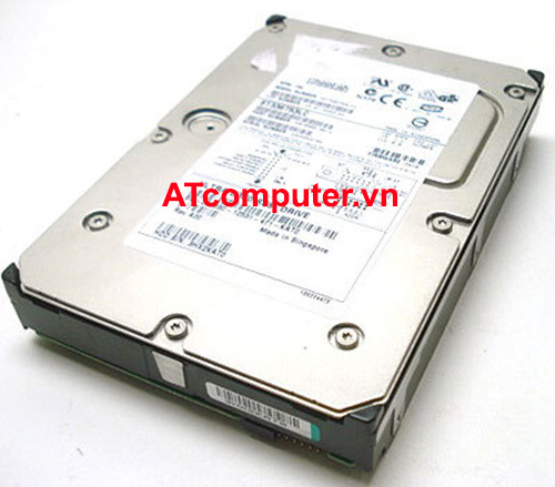 HDD SEAGATE 73GB 10K FC Fibre Channel. Part: ST373307FC