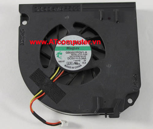 FAN CPU DELL Precision M65, M4300, M6300. P/N: NP865, GB0507PGV1-A, B2720.13.V1.F.GN, DQ5D576F007