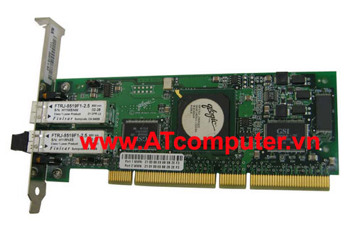NetApp X1033A Dual Port FCP/ SAN Target Mode Interface Adapter II PCI-X, Part: X1033A, 111-00018