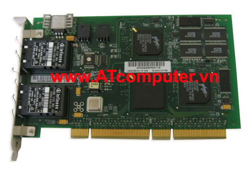 NetApp X2044A Dual Port FCAL Controller Card for Disk w/ SC Connectors, Part: X2044A, 111-01392