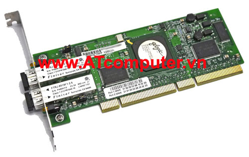 NetApp X2050A Dual Port Channel FCAL Controller Card for Disk or Mirroring w/ LC Connectors, Part: X2050A, 111-00051