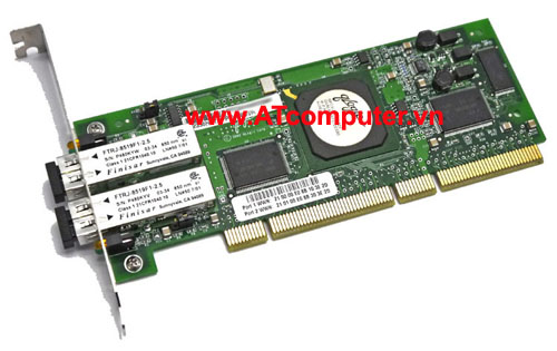 NetApp X2051A Dual Port Channel FCAL Controller Card for Tape w/ LC Connectors, Part: X2051A, 111-00051