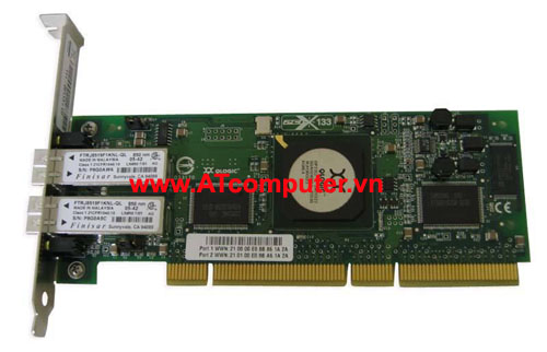 NetApp X1922A FC VI Cluster Card Dual LC Optical for MetroCluster, Part: X1922A, 111-00075