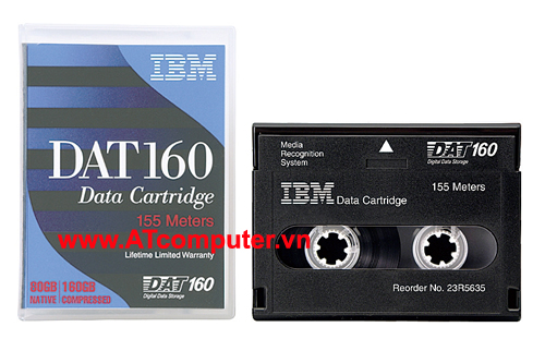 IBM DDS-6 DAT 160 80GB, 160GB Data Cartridge, P/N: 23R5635
