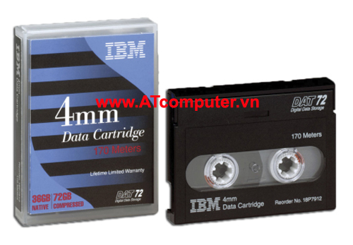 IBM DAT 72 36GB Data Cartridge, P/N: 18P7912