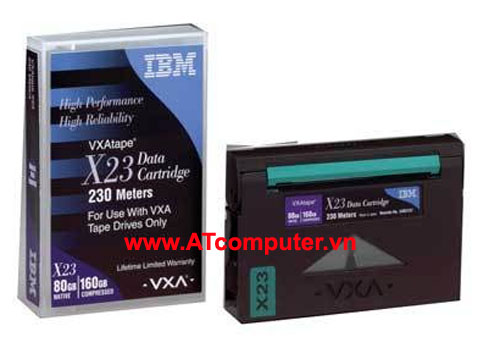 IBM X23 VXA-2 230m 80GB Data Cartridge, P/N: 24R2137