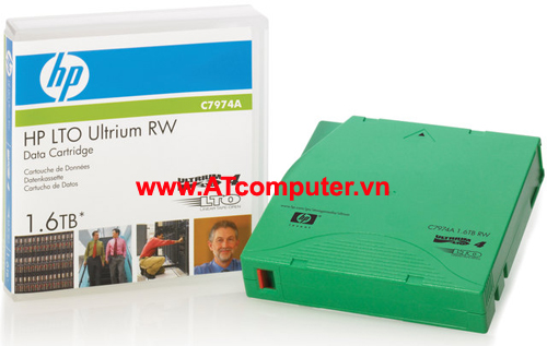 HP Ultrium LTO-4 800GB, 1.6TB Data Cartridge, P/N: C7974A