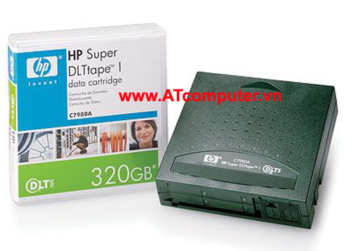 HP SDLT I 220-320GB Data Cartridge, P/N: C7980A