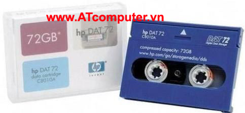 HP DAT 72 72GB 170m Data Cartridge, P/N: C8010A