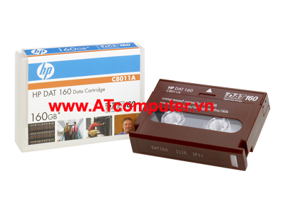 HP DAT 160 160GB Data Cartridge, P/N: C8011A