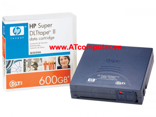 HP SDLT II 600GB Data Cartridge, P/N: Q2020A