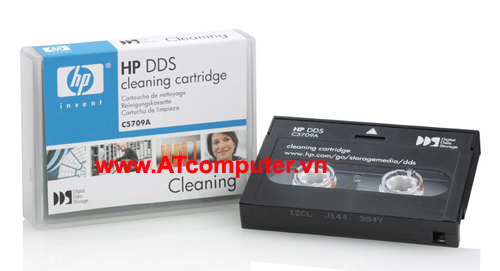 HP DDS DAT Cleaning Cartridge, P/N: C5709A