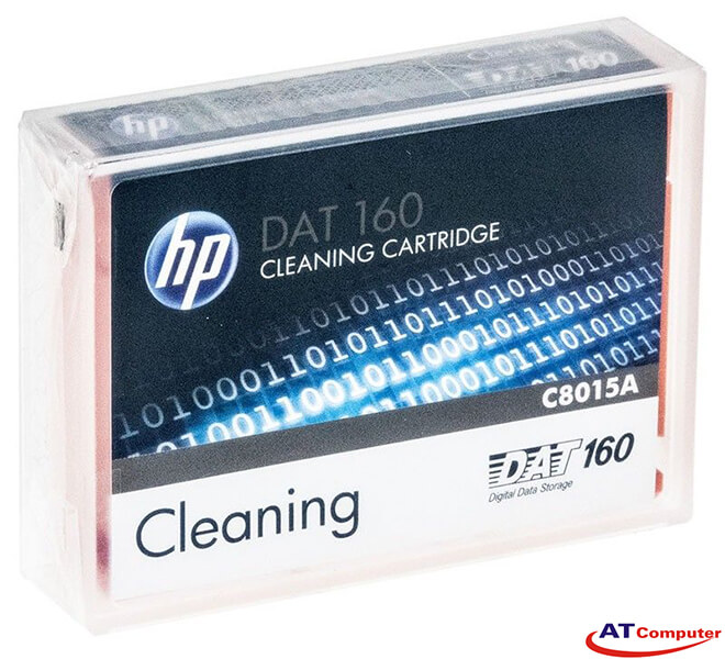 HP DDS, DAT 160 Cleaning Cartridge II, Part: C8015A