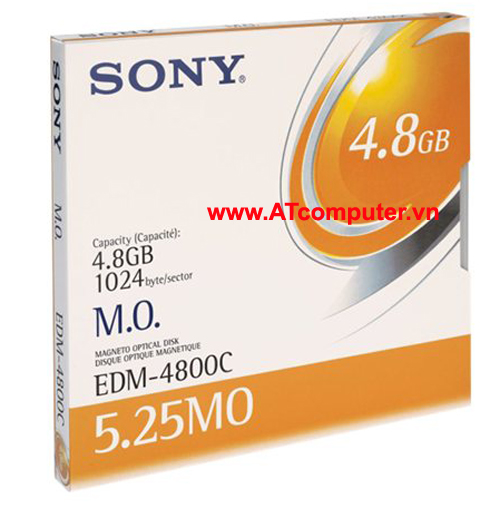 SONY 4.8GB Magneto Optical Disc, P/N: EDM4800C