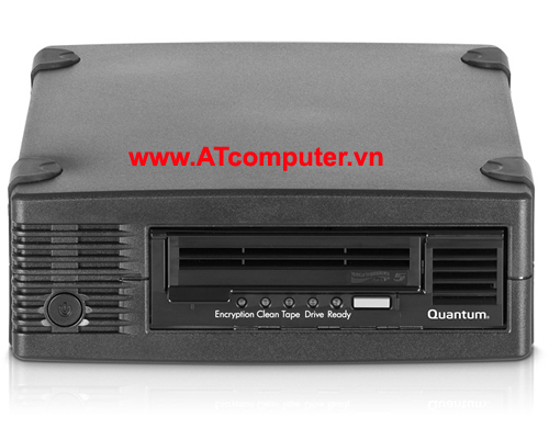 Quantum LTO-5 Tape Drive, Half Height, Tabletop, SAS HBA Bundle, 6Gb/s SAS, Black, P/N: TC-L52BN-EZ