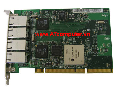 NetApp X1047 Quad Port Gigabit Ethernet Controller PCI-X, P/N: X1047, 106-00071