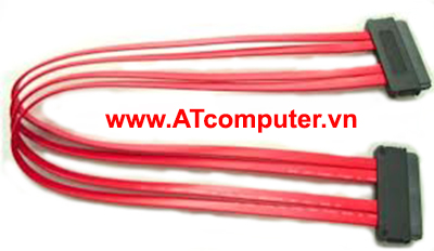 Cable SAS 32P x 2 Internal (SFF-8484 to SFF8484), Int. 4i Multilane, SAS32F (180°)*2  Length: 0.5M, P/N: 5C32A02-X050
