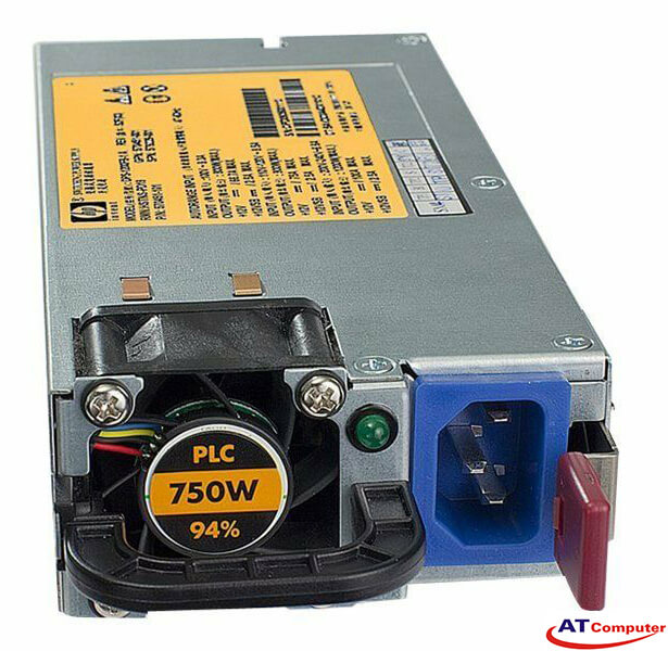 HP 750W Power Supply Hot Plug, For HP Proliant DL170e G6, DL360 G6, DL360 G7, DL380 G6, DL380 G7, DL385 G7, Part: 593831-B21
