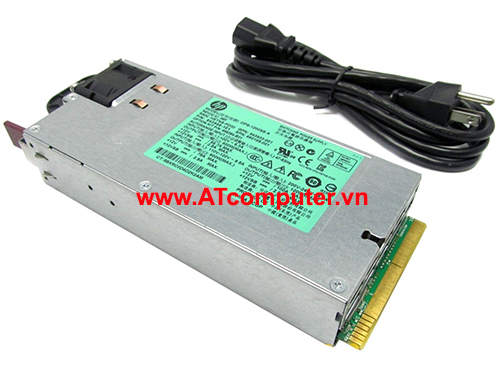 HP 1200W Power Supply Hot Plug, For HP Proliant DL160 Gen8, DL360e Gen8, DL360p Gen8, DL380p Gen8, ML350e Gen8, SL230s Gen8, SL250s Gen8, Part: 656364-B21