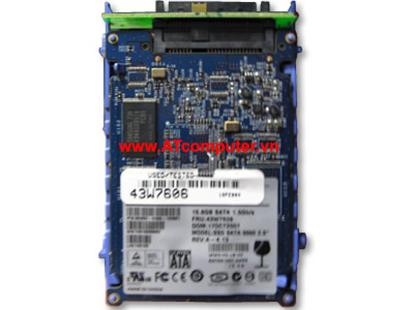 HDD IBM 400GB SSD SATA 1.8'' MLC. Part: 49Y6119