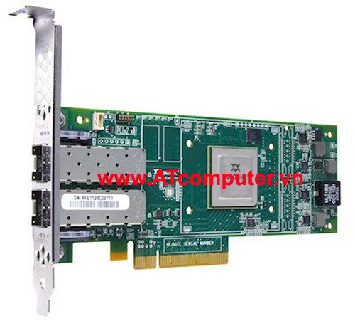 IBM QLogic 16GB Fibre Channel FC Dual Port Host Bus Adapter, Part: 00Y3341, 00Y3342