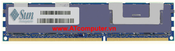 RAM SUN 4GB PC3-8500 DDR3-1066 CL7 Registered ECC SDRAM DIMM. Part: X5867A, 371-4283