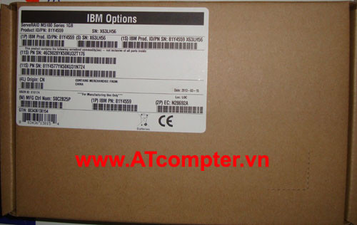 IBM RAID C100 Series RAID 5 Upgrade, Part: 81Y4406, 90Y4322, 90Y4323